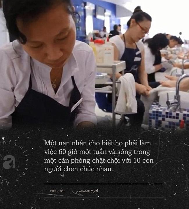 Góc khuất bên trong các tiệm nail giúp người Việt nhập cư đổi đời: Bị vắt kiệt sức lao động, không thể cầu cứu ai cùng các hoạt động tội phạm trá hình khác-2