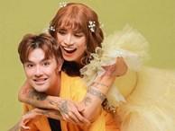 BB Trần và người yêu đồng giới hóa trang thành cô dâu, chú rể vào dịp Halloween