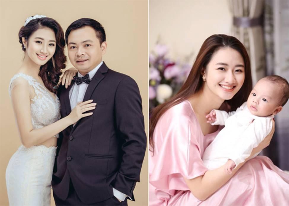 2 hoa hậu Việt lấy chồng tỷ phú hơn 18, 19 tuổi giờ ra sao?-5
