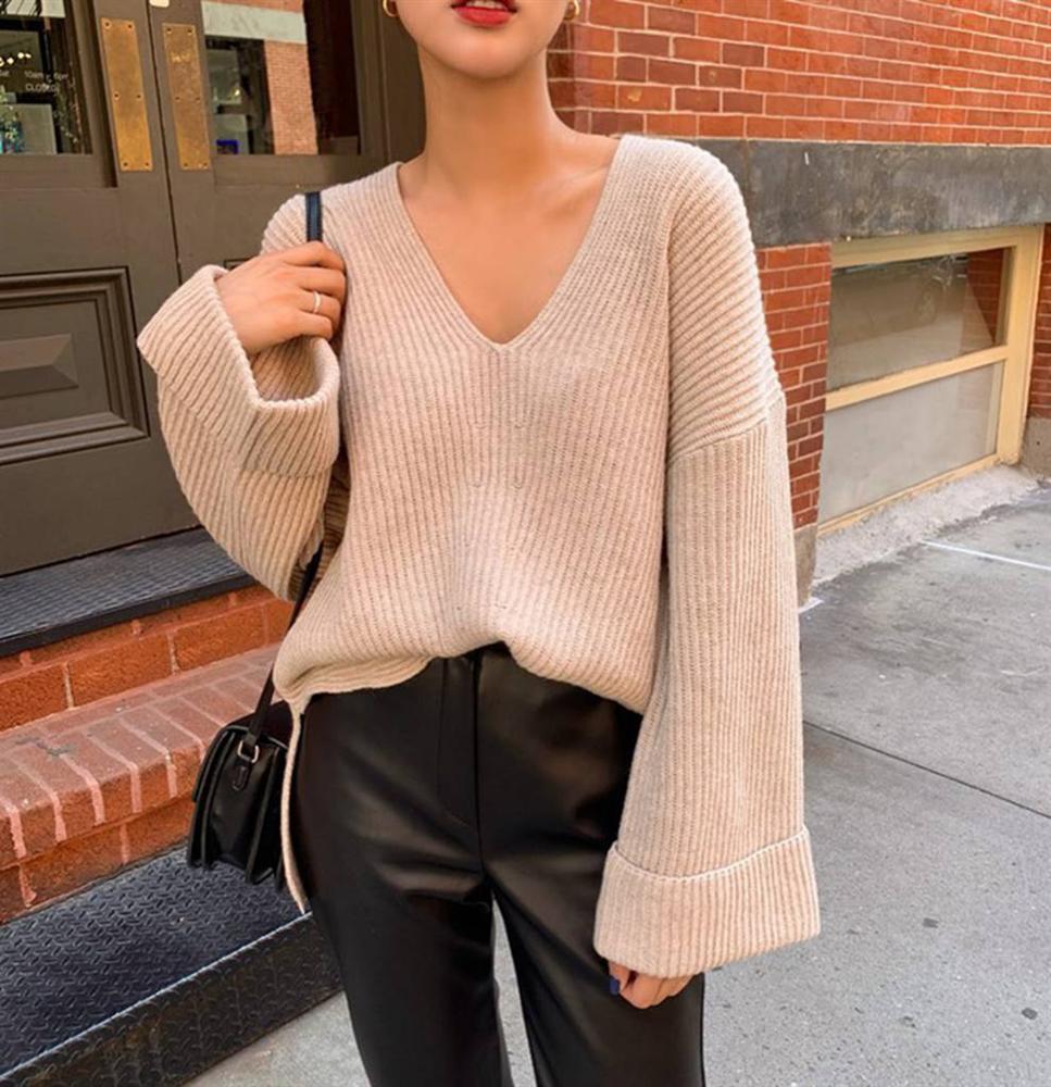 """Có đến 4 kiểu áo len để các cô nàng xoay tua"""" diện đẹp trong mùa lạnh, nếu không biết quả là phí của giời-6"""