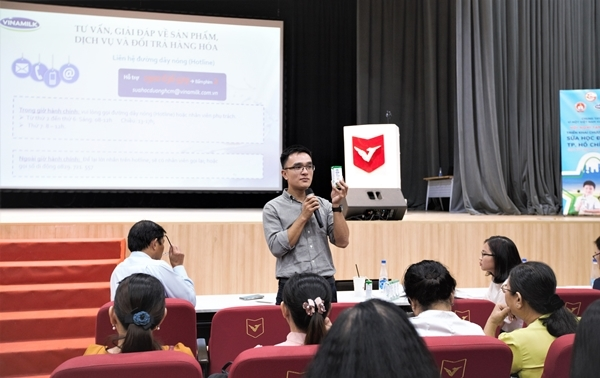 TP.HCM chính thức triển khai chương trình Sữa học đường-6