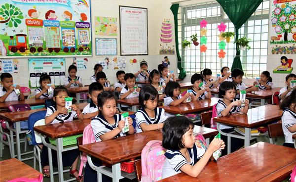 TP.HCM chính thức triển khai chương trình Sữa học đường-4