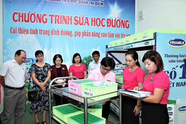 TP.HCM chính thức triển khai chương trình Sữa học đường-2