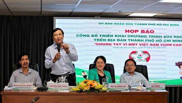 TP.HCM chính thức triển khai chương trình Sữa học đường-1