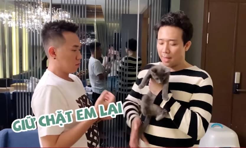 Chỉ qua một clip, vợ chồng Trấn Thành - Hari Won gây bất ngờ vì độ lật mặt đáng sợ với chính nhân vật được cặp đôi chăm sóc lâu nay-1
