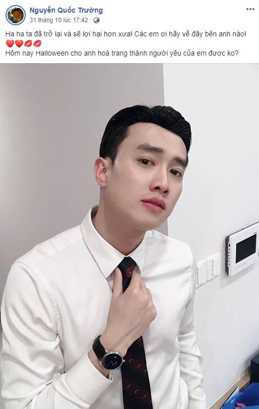 Sau Việt Anh, Quốc Trường vướng nghi án phẫu thuật thẩm mỹ mũi và đây là câu trả lời không ngờ của nam diễn viên-1