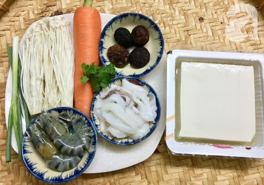 Cuối tuần đổi món cho cả nhà với đậu hũ hải sản hấp giấy bạc siêu lạ miệng-1