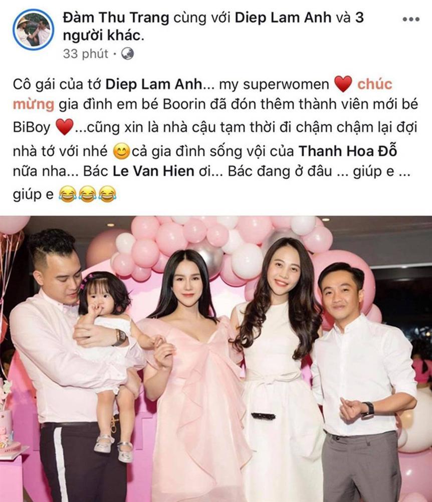 Sau hơn 3 tháng kết hôn, Đàm Thu Trang đã mang thai con đầu lòng với Cường Đô La?-2