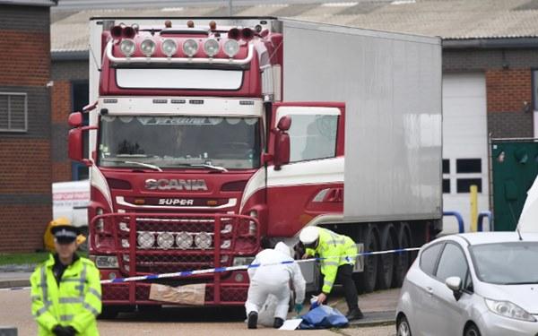 Thông tin mới về chiếc container đông lạnh chứa 39 thi thể: Từng đỗ tại điểm nóng buôn người-1
