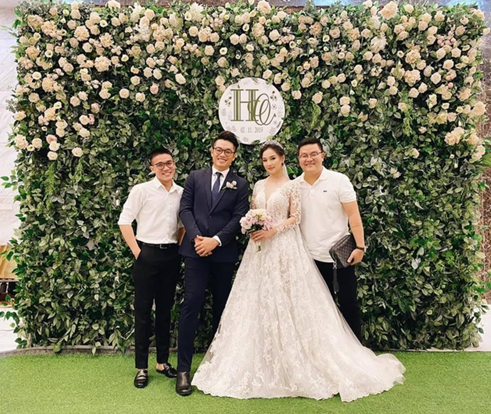 Kiều Oanh- vợ cố diễn viên người mẫu Duy Nhân rạng rỡ trong ngày cưới-1