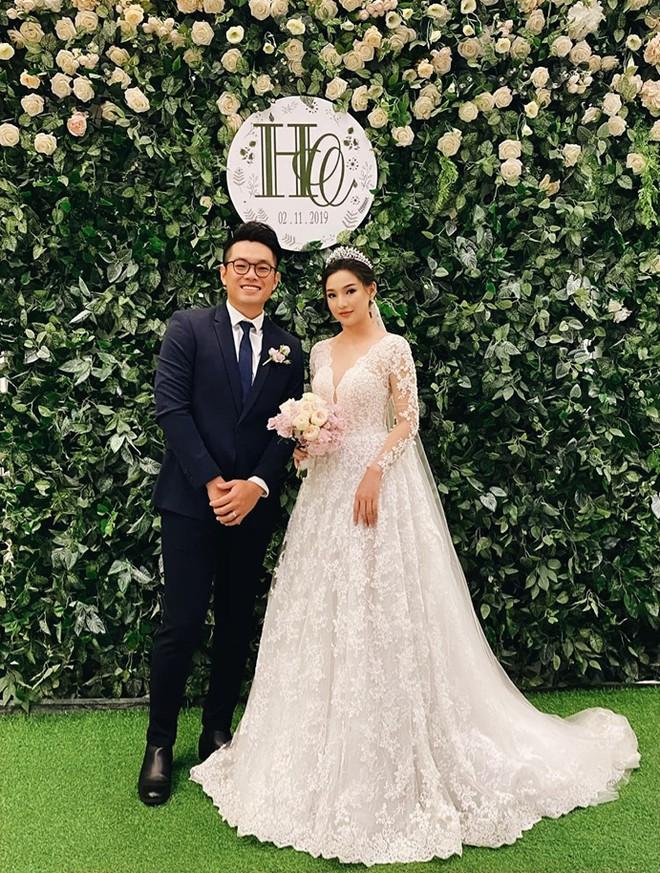 Kiều Oanh- vợ cố diễn viên người mẫu Duy Nhân rạng rỡ trong ngày cưới-2
