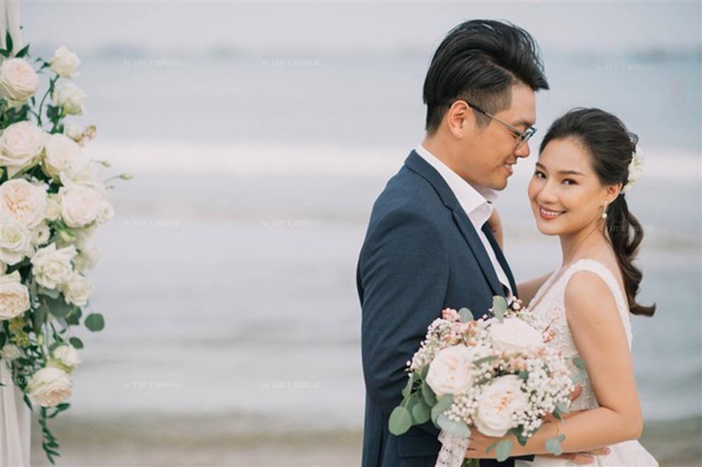 Kiều Oanh- vợ cố diễn viên người mẫu Duy Nhân rạng rỡ trong ngày cưới-3