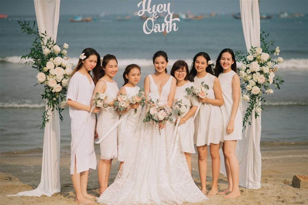 Kiều Oanh- vợ cố diễn viên người mẫu Duy Nhân rạng rỡ trong ngày cưới-5