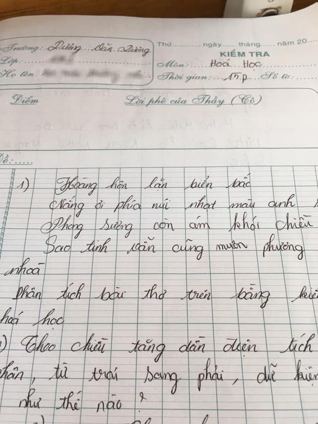 Đến tiết học Hóa nhưng thầy lại viết thơ bắt học trò phân tích, tưởng nhầm ai ngờ đây là mẹo nhớ dai-2