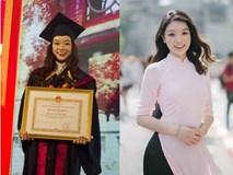 Thủ khoa xinh đẹp trường Kinh tế Quốc dân khiến dân tình choáng váng vì thành tích học tập siêu đỉnh, học 3.5 năm đã tốt nghiệp