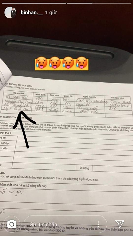 Lộ tờ khai lý lịch, Á hậu Phương Nga và bạn trai Bình An đã đăng ký kết hôn?-1