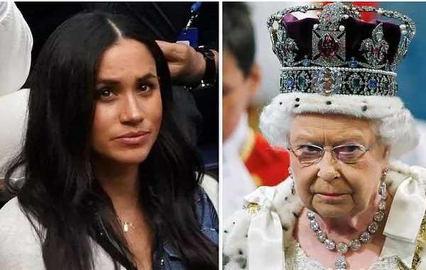 Nữ hoàng Anh không cho phép vợ chồng Meghan Markle rời khỏi hoàng gia, xây dựng cuộc sống mới-1
