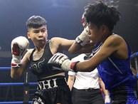 Chỉ 16 giây, nữ võ sĩ Việt khiến tay đấm boxing Thái Lan nhập viện