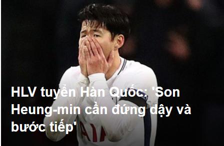 HLV tuyển Hàn Quốc hứa giúp Son Heung-min vượt qua cú sốc tinh thần-1
