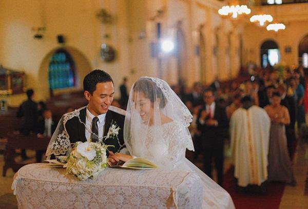 Hình ảnh hiếm hoi trong đám cưới cách đây 7 năm của Tăng Thanh Hà được chính Louis Nguyễn tiết lộ-4