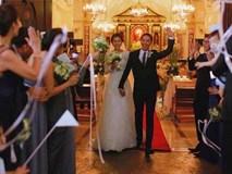 Hình ảnh hiếm hoi trong đám cưới cách đây 7 năm của Tăng Thanh Hà được chính Louis Nguyễn tiết lộ