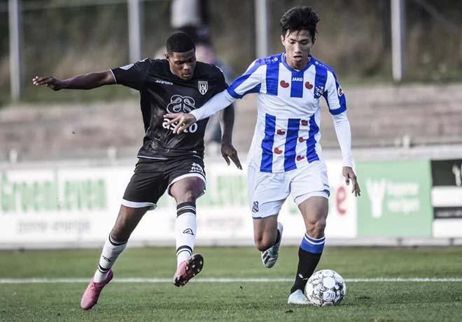 Văn Hậu đá trọn 90 phút trong ngày đội trẻ Heerenveen thua trắng 6 bàn-2