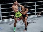 """Em trai ăn đấm vỡ mặt, mỹ nhân võ thuật tấn công"""" sàn MMA châu Á-8"""