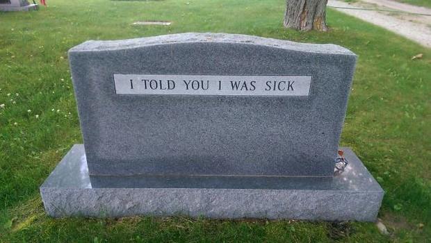 Những câu nói cực lầy khắc trên bia mộ khiến Thượng đế cũng phải cười khi đọc được-6