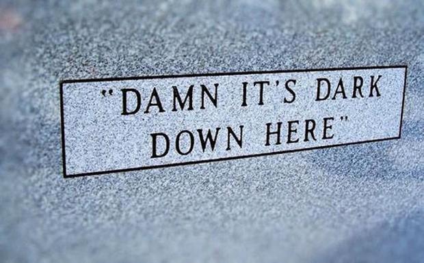 Những câu nói cực lầy khắc trên bia mộ khiến Thượng đế cũng phải cười khi đọc được-7