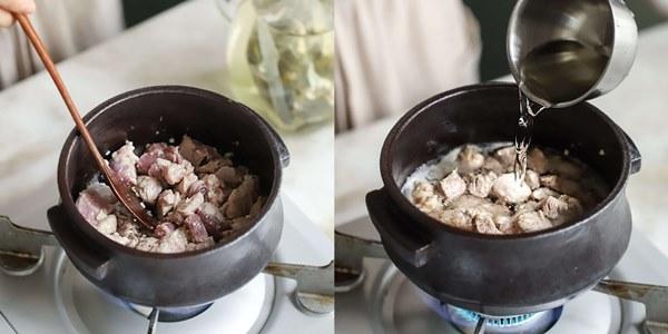 Học người Hàn nấu món canh thịt, ăn vào tiết trời mùa đông là ngon số 1!-3