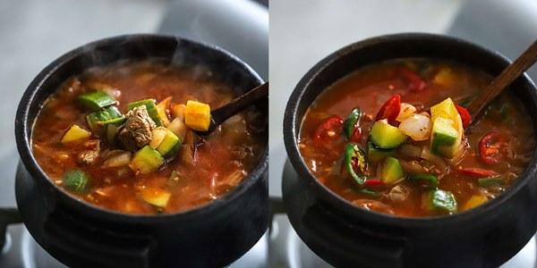 Học người Hàn nấu món canh thịt, ăn vào tiết trời mùa đông là ngon số 1!-5