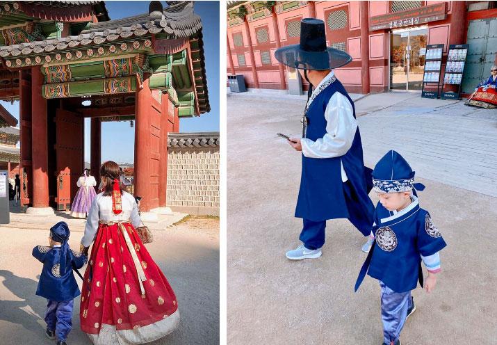 Ly Kute khoe ảnh cùng gia đình du lịch Hàn Quốc, nhưng ngoại hình bố mẹ cô mới là điều khiến dân mạng bất ngờ-8