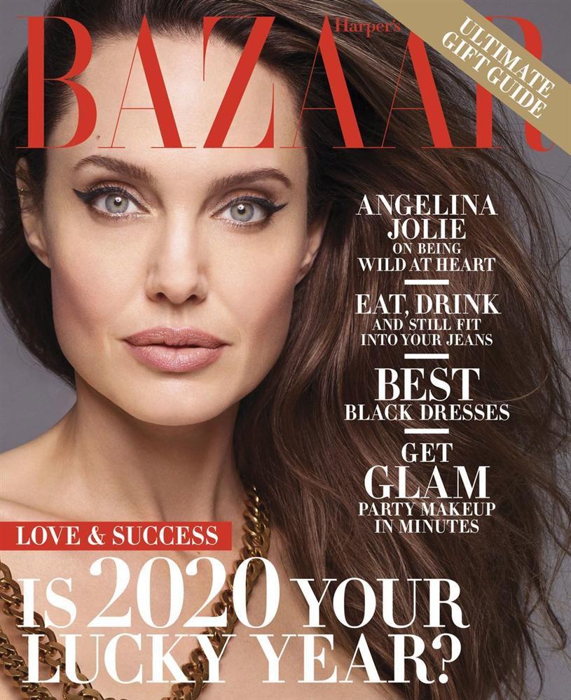 Angelina Jolie khỏa thân chụp ảnh nổi loạn-7