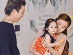 Vợ chồng Hoài Lâm lần hiếm hoi khoe ảnh đủ mặt 2 con gái-3