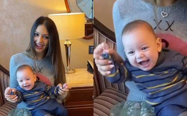 Người đẹp Nga gây phấn khích khi đăng clip của con trai nhưng cựu vương Malaysia lại có động thái dứt tình đầy phũ phàng-1