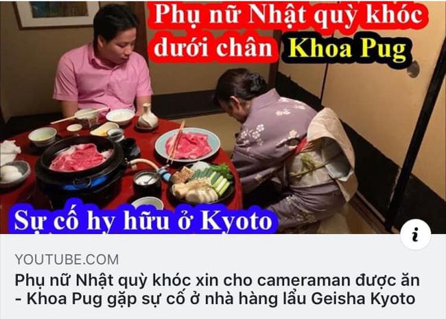 Một làn sóng tranh cãi dữ dội từ nhà văn đến giới đầu bếp đều đang chỉ trích Khoa Pug khi bị tố cố tình làm vlog dịch sai để hạ thấp phụ nữ!?-1