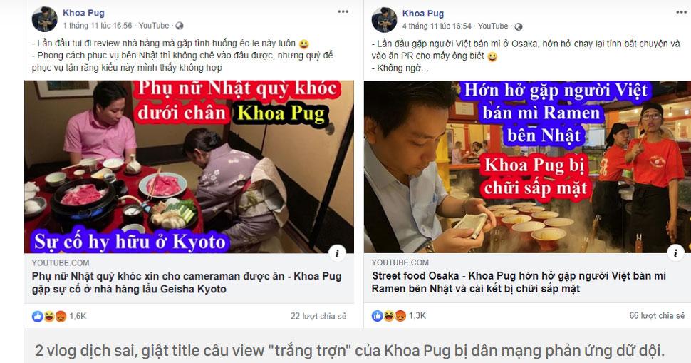 Một làn sóng tranh cãi dữ dội từ nhà văn đến giới đầu bếp đều đang chỉ trích Khoa Pug khi bị tố cố tình làm vlog dịch sai để hạ thấp phụ nữ!?-7