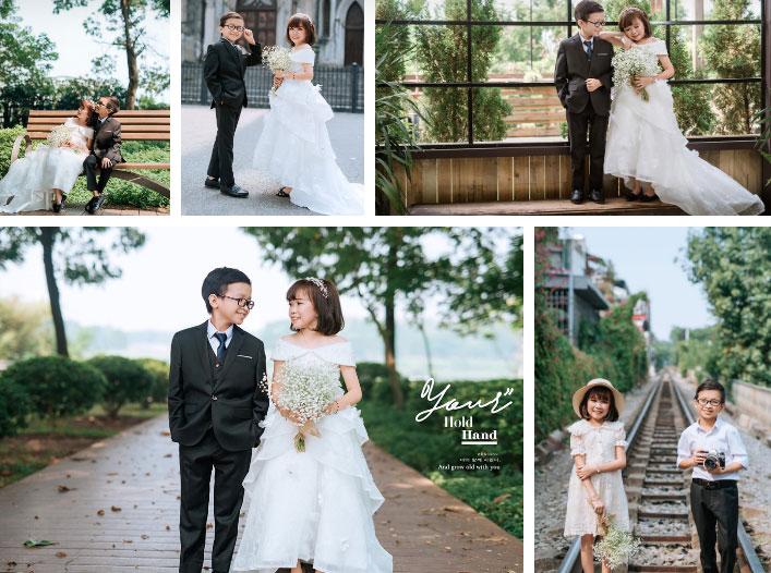 """Đám cưới của cặp đôi tí hon từng bị nhầm là con nít ranh"""" chính thức tổ chức tại quê nhà, vẻ lạ lẫm của cô dâu mới khiến MXH chú ý-6"""