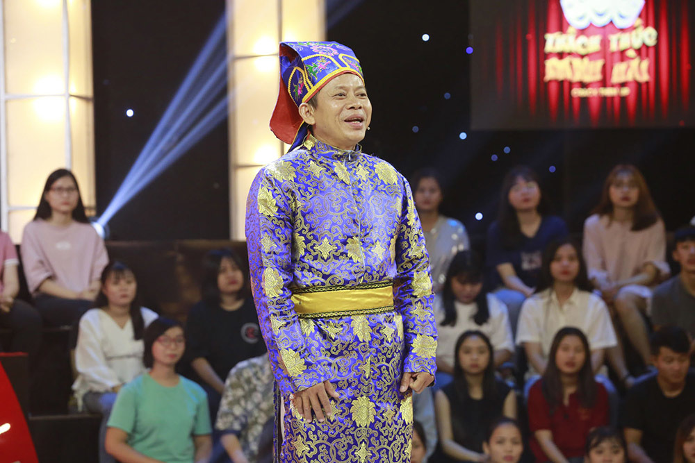 Trấn Thành, Trường Giang, Ngô Kiến Huy bị bắt quỳ gối giữa sân khấu-1