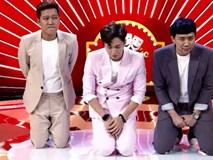 Trấn Thành, Trường Giang, Ngô Kiến Huy bị bắt quỳ gối giữa sân khấu