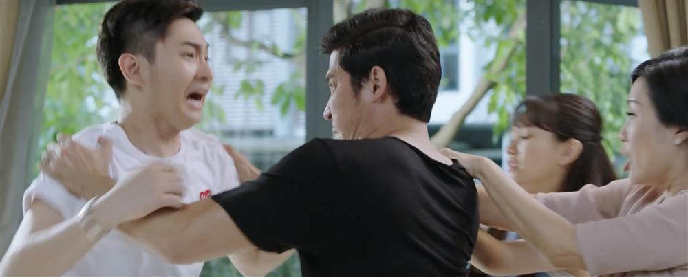 Con nuôi Minh Nhí lần đầu đóng phim đã phải lên chức bố-3