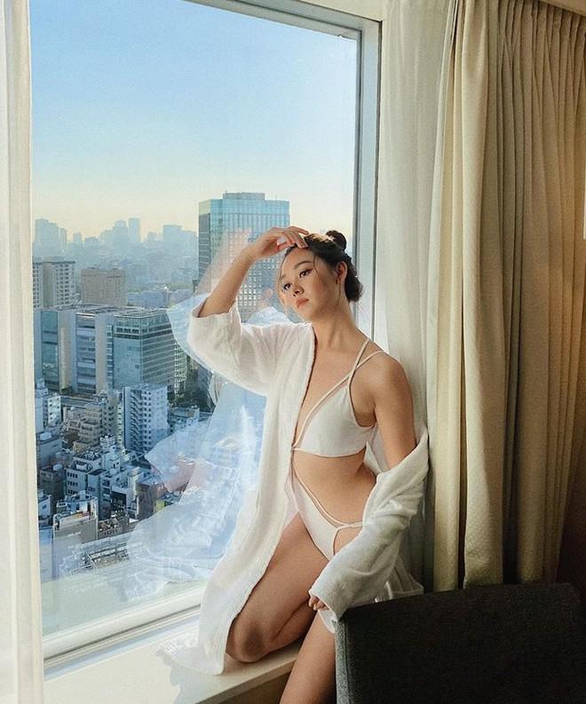 Á hậu Tường San diện áo tắm ở cuộc thi Hoa hậu Quốc tế 2019-4