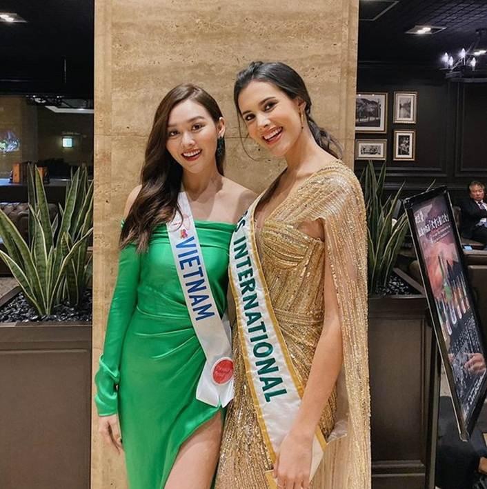 Á hậu Tường San diện áo tắm ở cuộc thi Hoa hậu Quốc tế 2019-5