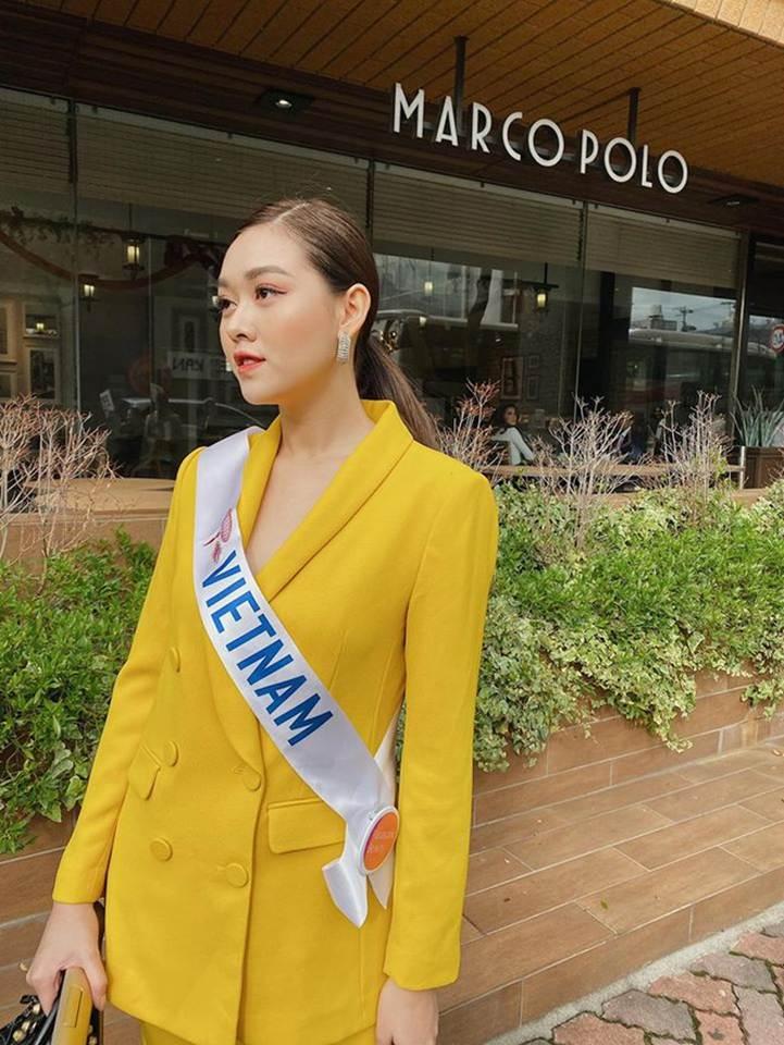 Á hậu Tường San diện áo tắm ở cuộc thi Hoa hậu Quốc tế 2019-6
