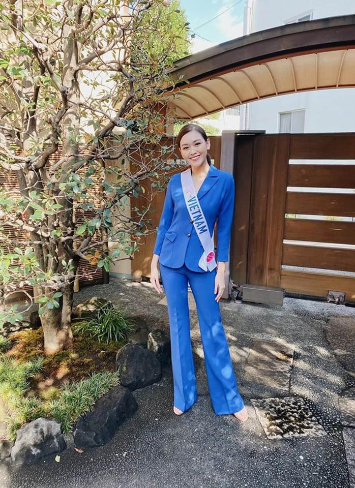 Á hậu Tường San diện áo tắm ở cuộc thi Hoa hậu Quốc tế 2019-7