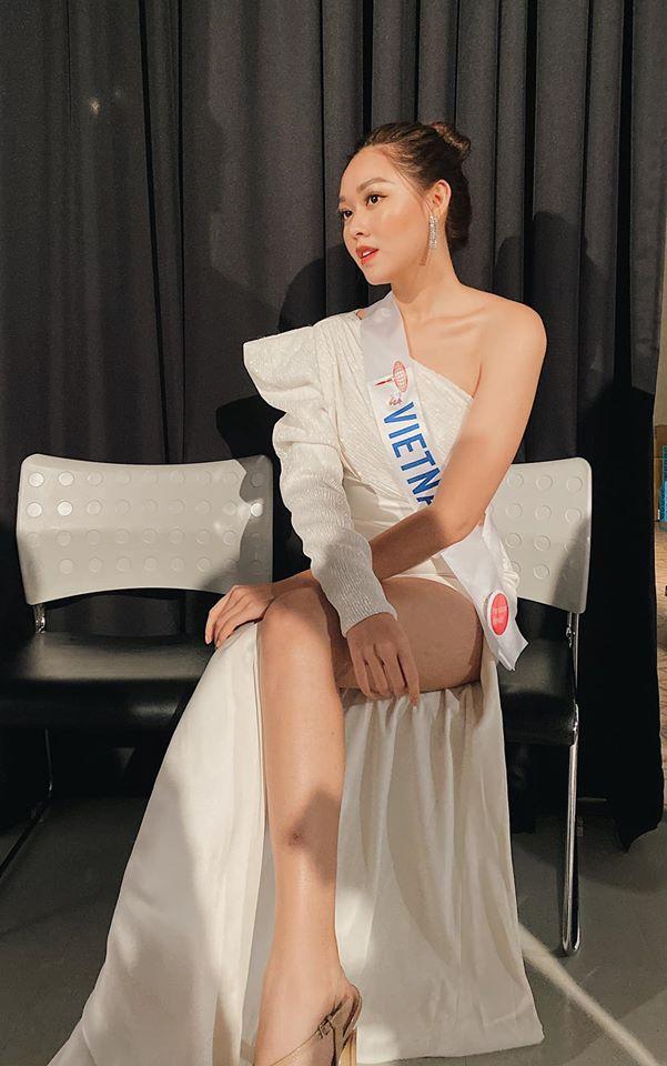 Á hậu Tường San diện áo tắm ở cuộc thi Hoa hậu Quốc tế 2019-8