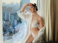 Á hậu Tường San diện áo tắm ở cuộc thi Hoa hậu Quốc tế 2019