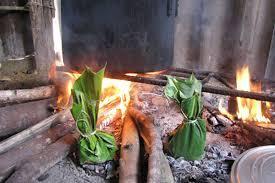 Lên Tây Bắc thưởng thức món rêu nướng độc đáo và đặc sắc của đồng bào người Thái-2