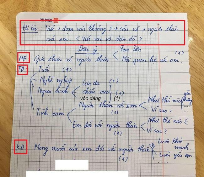 """Chỉ là bài văn thông thường của cậu học sinh lớp 3, nhưng khi biết công thức viết văn"""" của bà mẹ thì ai cũng phục sát đất-3"""
