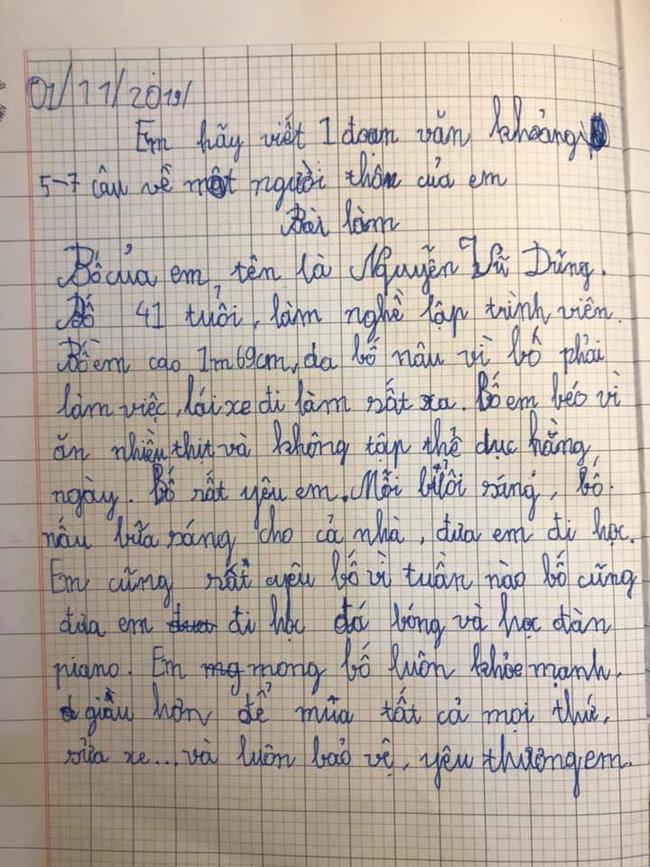 """Chỉ là bài văn thông thường của cậu học sinh lớp 3, nhưng khi biết công thức viết văn"""" của bà mẹ thì ai cũng phục sát đất-5"""